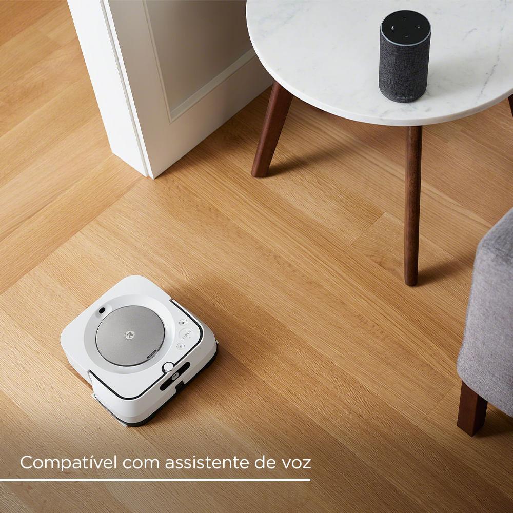Robô Passa Pano Inteligente Bivolt Braava jet® m6 iRobot