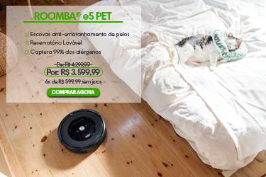 Banner Roomba e5 - MOBILE