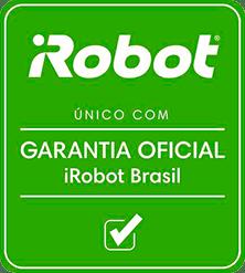 Selo de Garantia Oficial iRobot